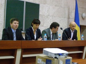 Г.А.Євсев'єв, Н.С.Скрипка, В.Г.Петросов та І.І.Гловацький