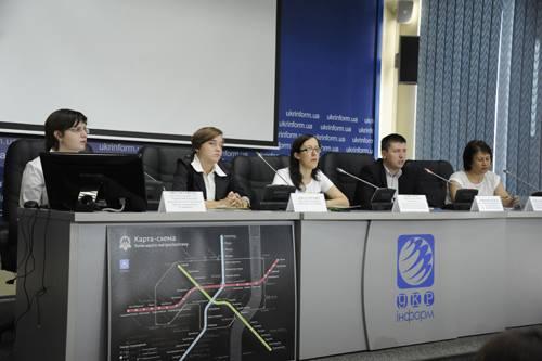Прес-конференція в Укрінформі 10.09.2014
