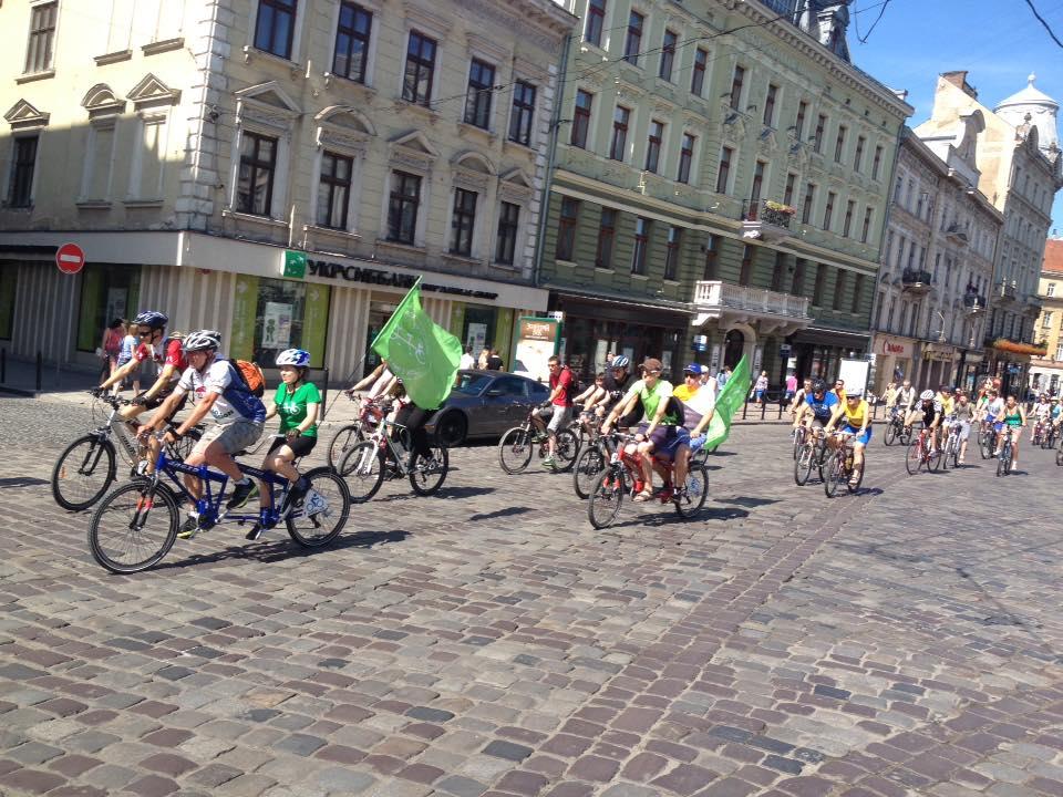 Велопробіг вулицями Львова