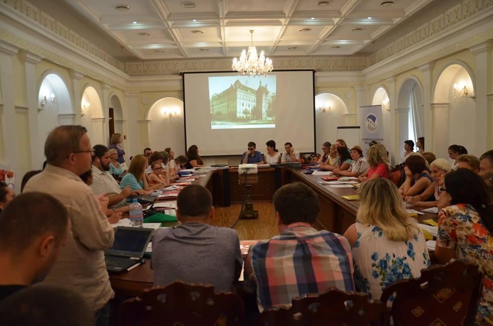 Семінар «Міжнародний та український досвід організації інклюзивного навчання для дітей з порушеннями зору»