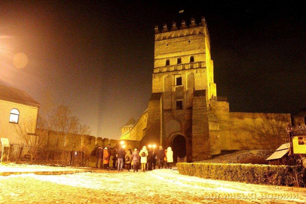 Вихованцям Крупівського НРЦ провели нічну театралізовану екскурсію «Романтика та містика Лучеська»