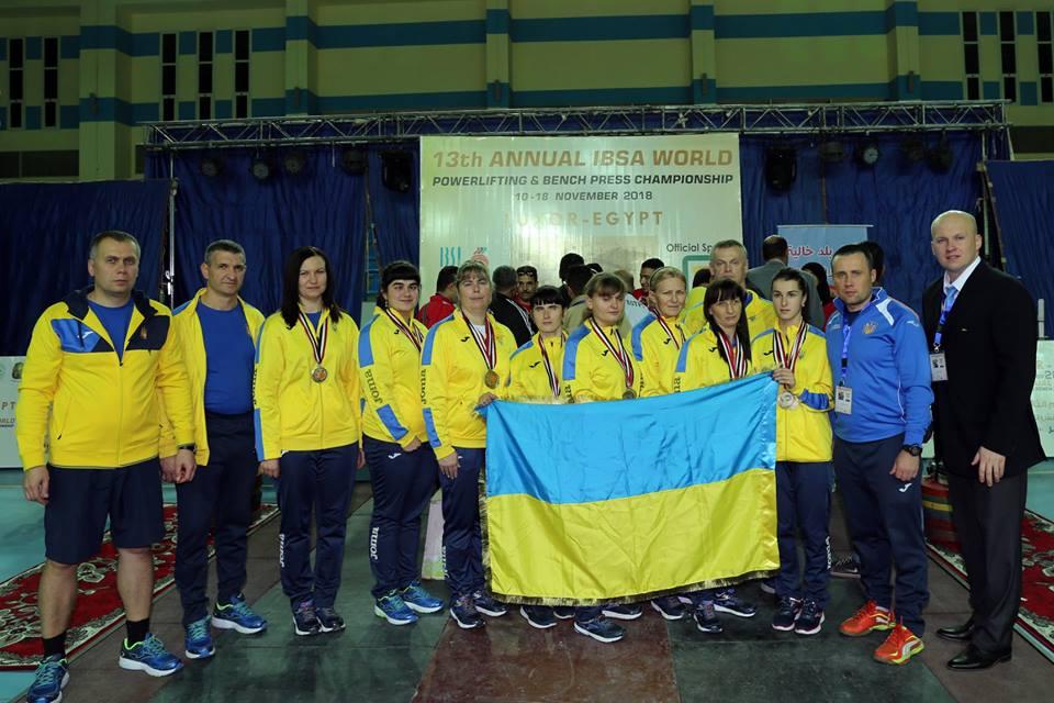 День України на Чемпіонаті світу з пауерліфтингу та жиму лежачи серед спортсменів з порушеннями зору